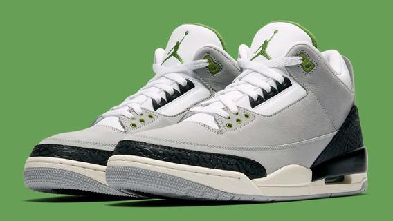 Air Jordan Retro 3 Clorofila