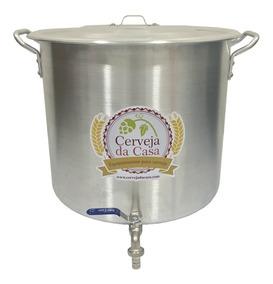 Caldeirão Panela Cerveja Artesanal 94,2l (50cm) C/ Válvula