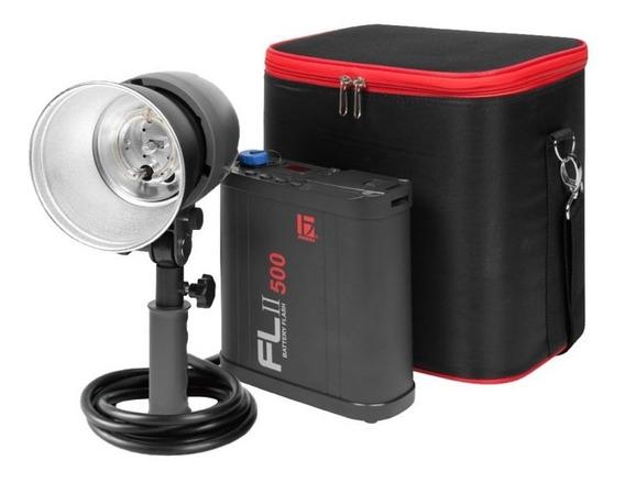 Flash Portátil Flii 500a Bateria Jinbei Pro Studio Outdoor