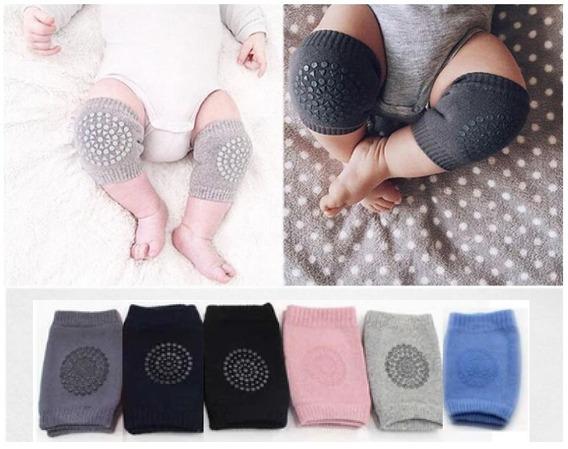 Joelheira Para Bebê Kit 3 Unidades Segurança Engatinhar