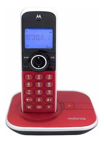 Imagen 1 de 2 de Teléfono inalámbrico Motorola GATE4800 rojo