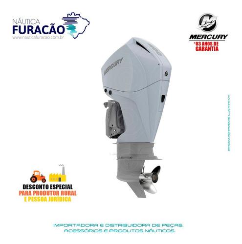 Motor De Popa Mercury 4 Tempos 200hp Cxl Efi V6 Dts Branco