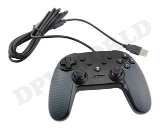 Control Pc Y Pro Nintendo Switch Alambrico Usb Control Usb