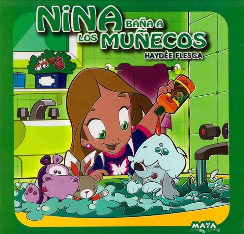 Nina Baña A Los Muñecos - Libro - Haydee Flesca