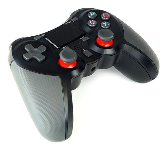 Controle De Ps4 Joystick Dualshock 4 Analógico Sem Fio Preto
