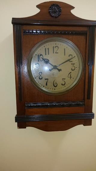 Relógio Carrilhão De Parede Bing Bang Original Alemão Antigo