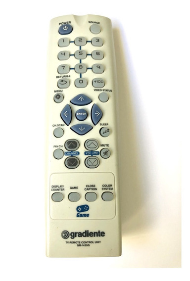 Controle Remoto Para Tv Gradiente Game Gm-1429g Original