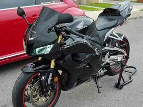 Honda 600rr Negra