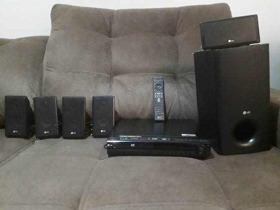 Home Theater Lg Full Hd, Hdmi, Karaoke, Usb, Amfm, Mp3, 120w