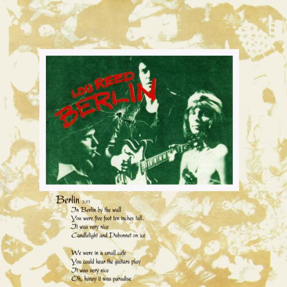Lou Reed - Berlin - Cd Nuevo, Cerrado.