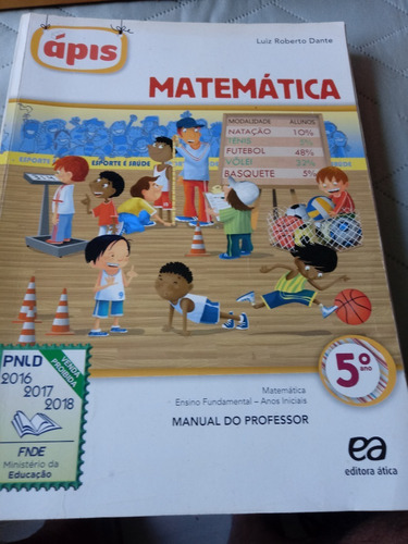 Matemática Ensino Fundamental Manual Do Professor 5º Ano