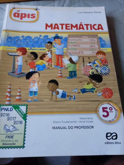 Matemática Ensino Fundamental Manual Do Professor 5º Ano
