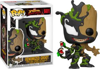 Funko Pop! Marvel #601 Spiderman Maximun Venom Groot Nortoys