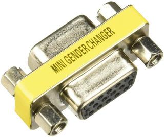 Acoplador De Cable Cambiador De Género 4xem 4xvgaff Vga F/f