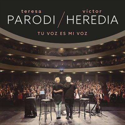 Teresa Parodi & Victor Heredia Tu Voz Es Mi Voz Cd Dvd 2019