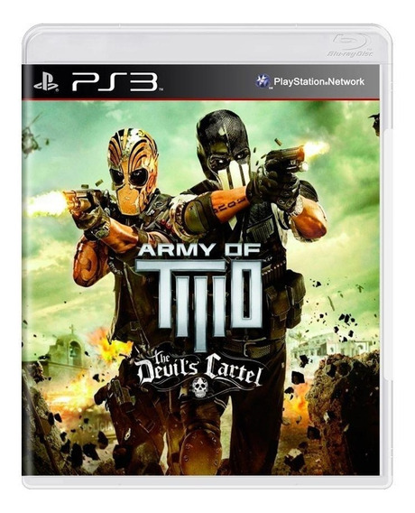 Army Of Two The Devils Cartel Ps3 Mídia Física