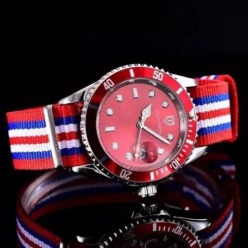 Relógio Pulseira De Nylon