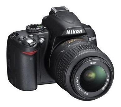 Camera Profissional Nikon D3000 + Lente 18-55mm