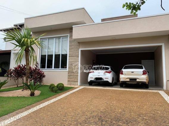 Casa Com 3 Dormitórios À Venda, 180 M² Por R$ 710.000,00 - Condomínio Campos Do Conde - Paulínia/sp - Ca1726