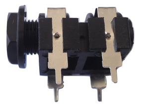 Kit 10 Plug Conector P10 Painel Plastico