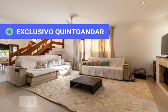 Casa Em Condomínio Mobiliada Com 4 Dormitórios E 4 Garagens - Id: 892945749 - 245749
