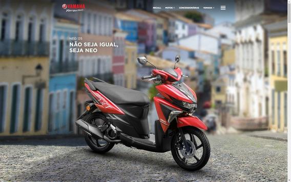 Moto Yamaha Neo 125 Ubs - 0 Km - Automática (cvt)