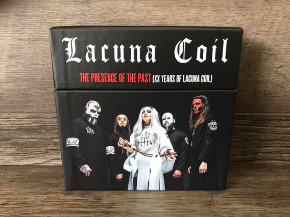 Lacuna Coil - The Presence Of The Past Box 13 Cds