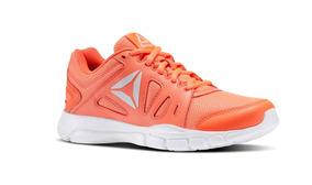Tenis Reebok Trainfusion Nine 2.0 Naranja Envio Gratis