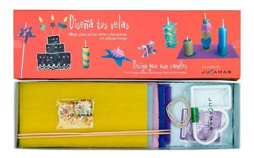 Diseña Tus Velas Set De Arte Manualidades Infantiles Edu