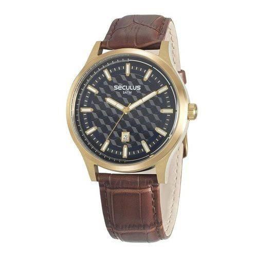 Relógio De Pulso Masculino Seculus Cód. 20593gpsvdc2