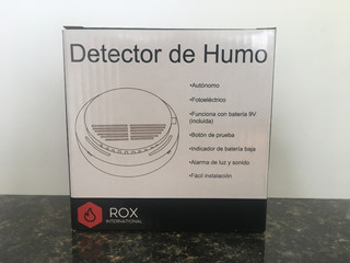 Detector De Humo + Batería. Autónomo. Dimmex
