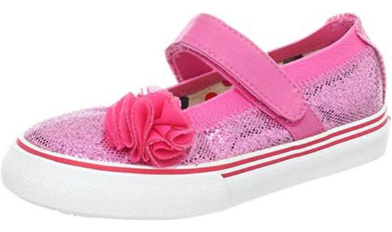 Zapatos Guillermina Brillos Importados Usa - Nena Talle 27