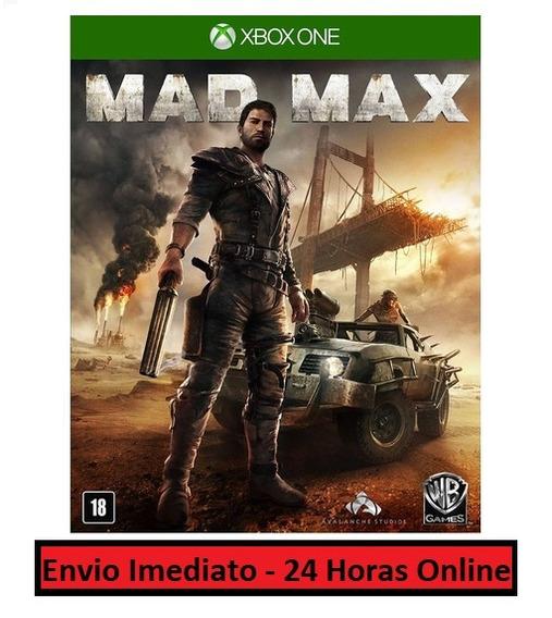 Mad Max Jogo + Todo Conteúdo Extra Xbox One Midia Digital
