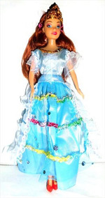 Muñeca Princesa Accesorio Vestido Juguete Niñas Nav Barbie