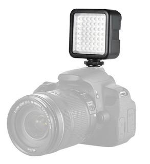 Lampara Led 49 Leds Para Camara Video Fotografia Canon/sony