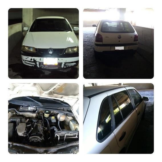Volkswagen Gol Comfort 5p Blanco 1.8 Sincronico