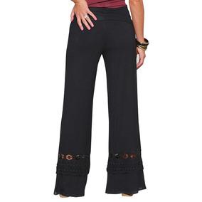 Casual Pantalones De Co Suelto Encaje Nueva Moda Mujer Nv8wymPn0O