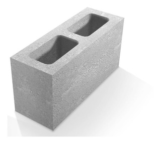 Bloque De Cemento Standar 12,8 X 19 X 39
