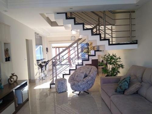 Casa Com 3 Dormitórios À Venda, 225 M² Por R$ 900.000,00 - Loteamento Remanso Campineiro - Hortolândia/sp - Ca2476