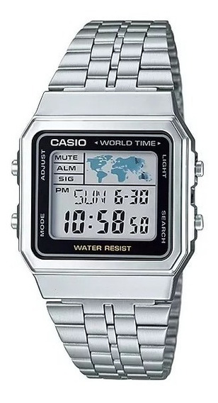 Relogio Casio Digital A500wa-1df - Prata