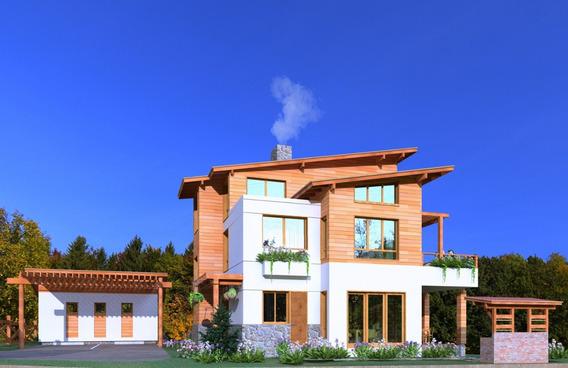 Villa En Jarabacoa De 3 Niveles