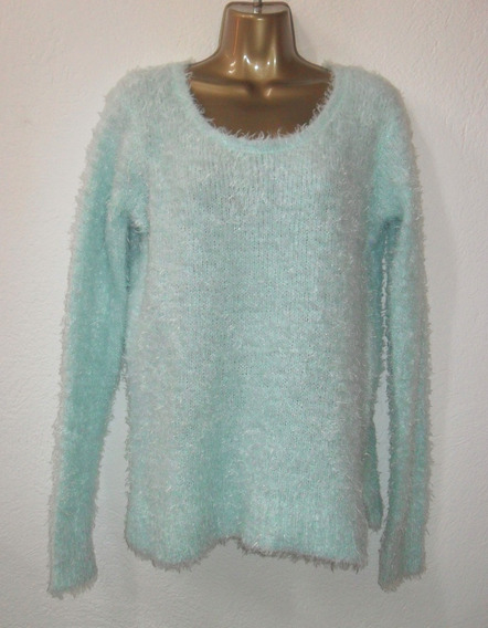 Suéter Faded Glory Mujer Talla M (8 - 10) Peluche