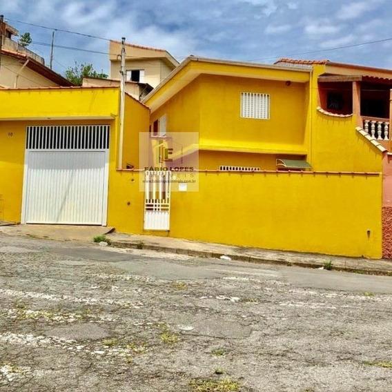 Casa A Venda No Bairro Vila Helena Em Santo André - Sp. - 1493-1