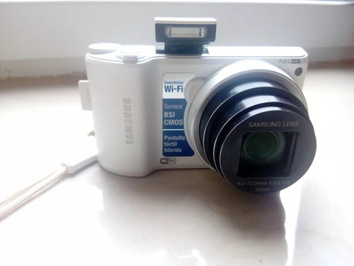Imagen 1 de 6 de Samsung Camara Wb250f Full Hd Pantalla Tactil Wifi Zoom 18x