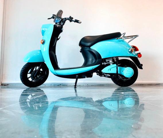 Moto 100% Eléctrica E-vespa - Financia 100% En $ Gaiamotors