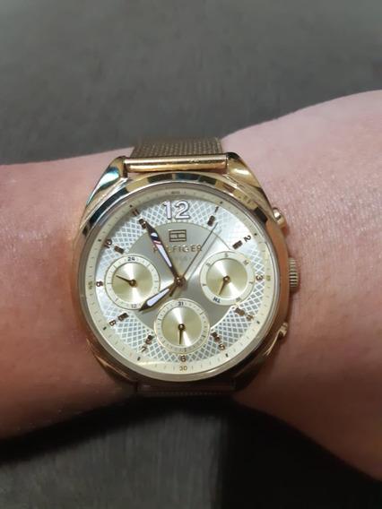 Relógio Tommy Hilfiger Feminino Gold 1781488