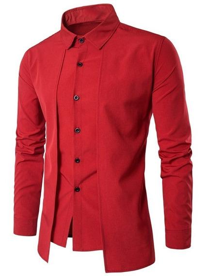Camisa Hombre Doble Fondo Oriental