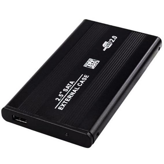 Case Gaveta Hd Sata Notebook Usb Externa Pc Xbox Ps3 Wii T2