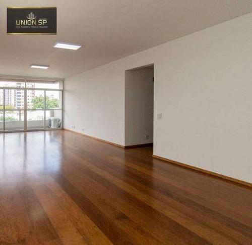 Imagem 1 de 17 de Apartamento Com 3 Dormitórios À Venda, 182 M² - Moema - São Paulo/sp - Ap16815