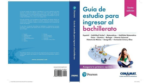 Imagen 1 de 1 de Guia De Estudio Para Ingresar Al Bachillerato